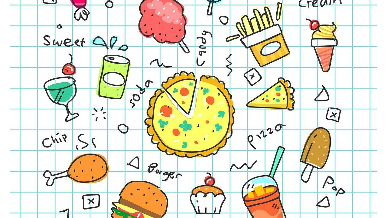 中学生,間食,食べ過ぎ