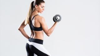女性,筋トレ,体型